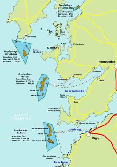 Isla De Ons Mapa.Perdidos En Isla De Ons Otros Lugares